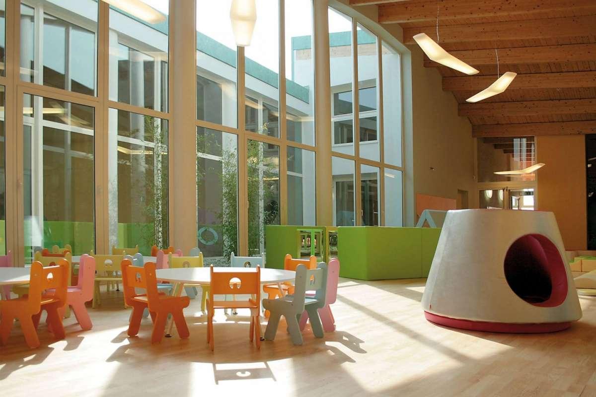 Scuola dell infanzia e asilo nido di nonantola una delle for Arredo scuola materna