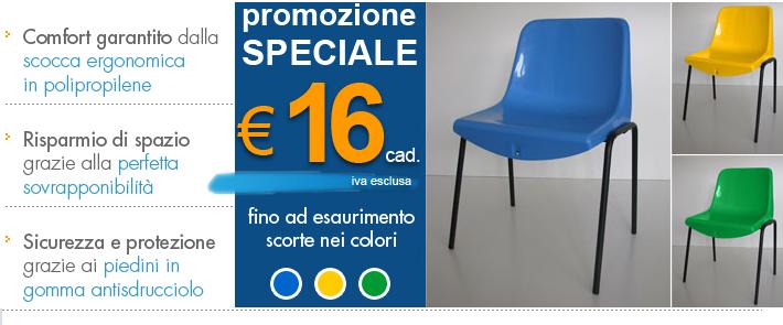 Sedie Impilabili Contract.Sedie Impilabili In Plastica Effepi Arredi Contract