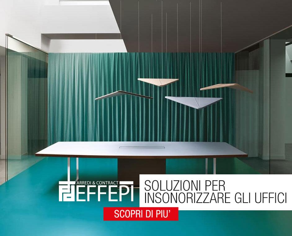 Ufficio Arredo Urbano Padova : Insonorizzare un ufficio con pannelli fonoassorbenti effepi