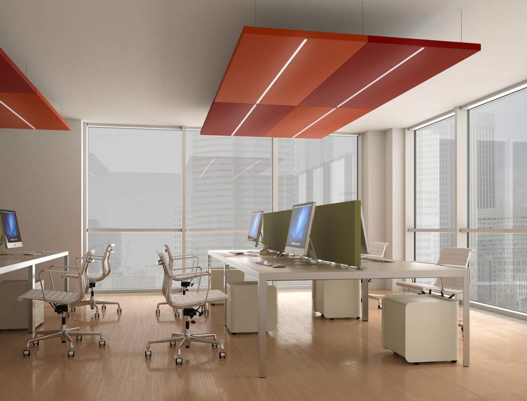 Isolare Acusticamente Una Parete Interna insonorizzare un ufficio con pannelli fonoassorbenti