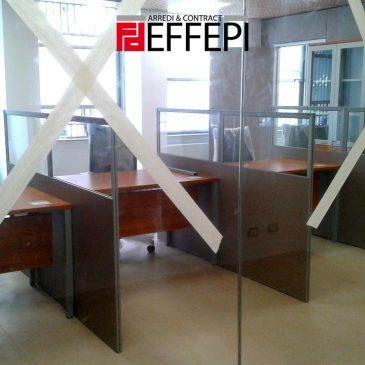 Fornitura arredi uffici nuova sede INPS di Palermo