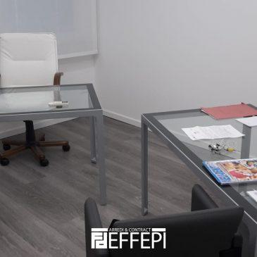 Fornitura arredi ufficio per uno studio dentistico