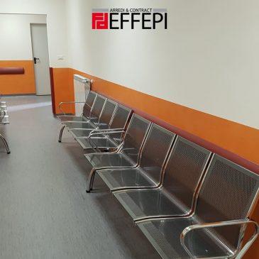 Fornitura e Montaggio Arredi per Uffici unità ospedaliera Castelbuono