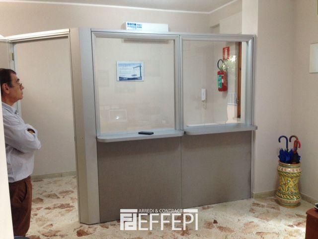 parete divisoria studio dentistico