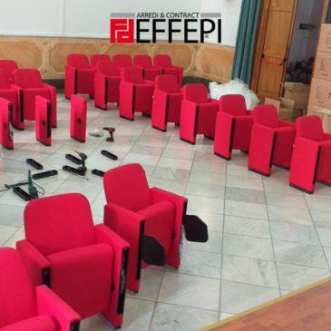 Fornitura e Montaggio poltrone sala conferenza