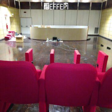Fornitura e Montaggio poltrone sala congressi